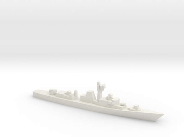 Minegumo-class destroyer, 1/1800 in White Strong & Flexible