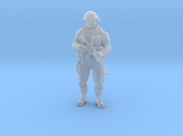 Modern Soldier Standing (1/48 Scale) in Frosted Ultra Detail