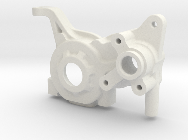 LCG (B6 plate) for B5M 3 gear Right gearbox in White Strong & Flexible