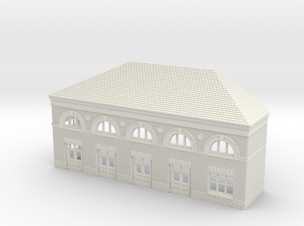 WILMINGTON STATION SOUTH A ROOF in White Natural Versatile Plastic