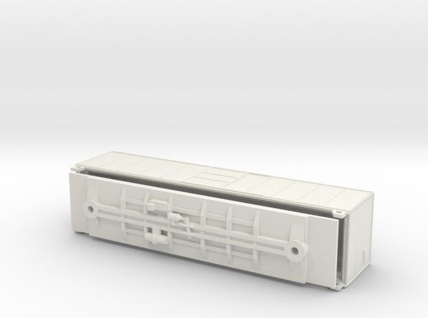 TT Scale PRR X29 Fine Details just model in White Strong & Flexible