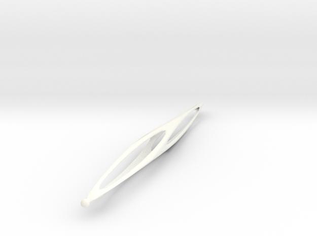 Exotic Pen - Supernova Soccer in White Processed Versatile Plastic
