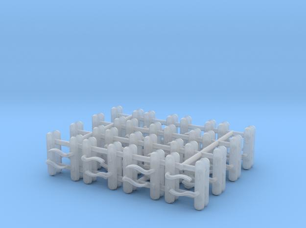 0 Scale 1:43 door handle 16 sets   in Smoothest Fine Detail Plastic