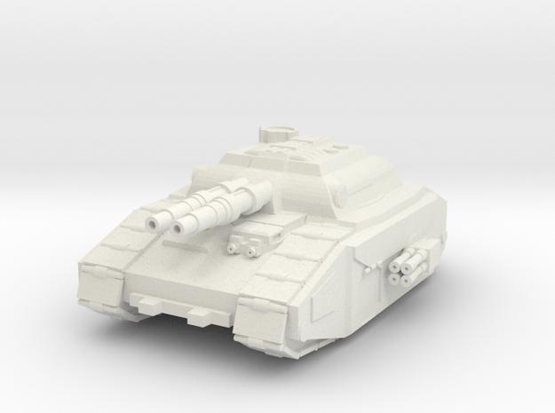 Super Heavy Tank Destroyer in White Natural Versatile Plastic