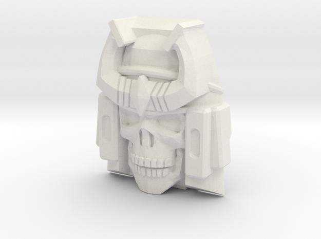 Bludgeon Face (Titans Return) in White Natural Versatile Plastic