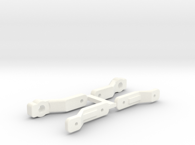 NRC-32 CAMBER LINKS in White Strong & Flexible Polished