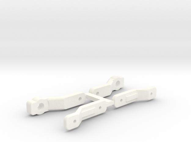NRC-32 CAMBER LINKS in White Processed Versatile Plastic