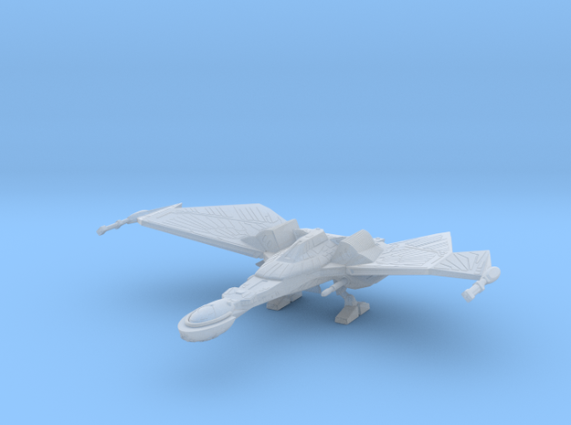 1/2500 QuD (Insurrection) Frigate - Landing mode in Smooth Fine Detail Plastic