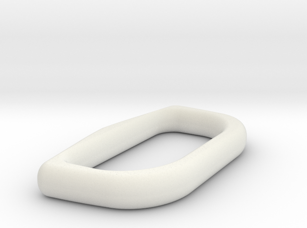 Upper Rocketeer Buckle - Ring in White Strong & Flexible