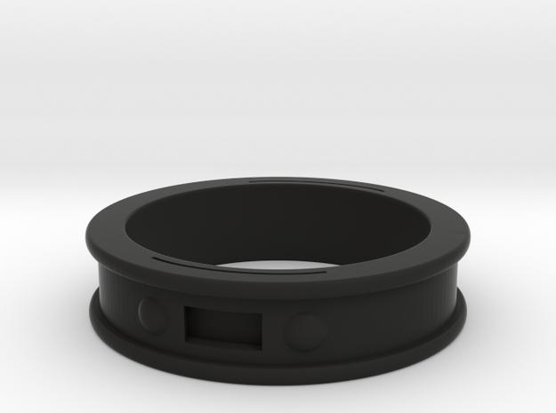 NFC Band in Black Natural Versatile Plastic