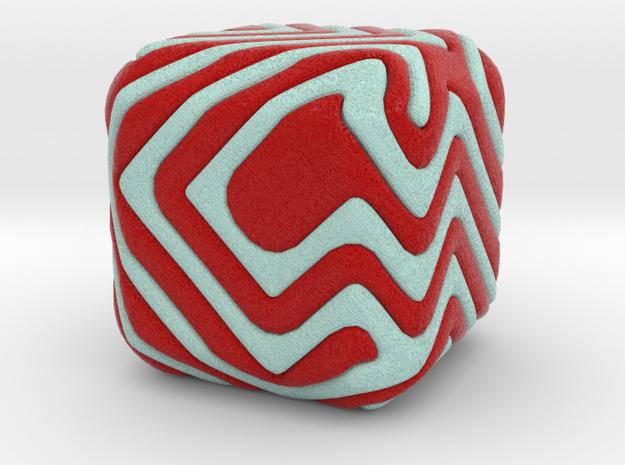 Cube patchwork spiral