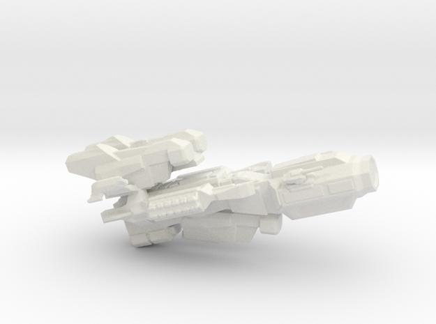 Heavy Glider in White Natural Versatile Plastic