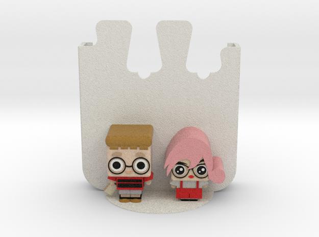 Phone Holder (Couple) in Full Color Sandstone