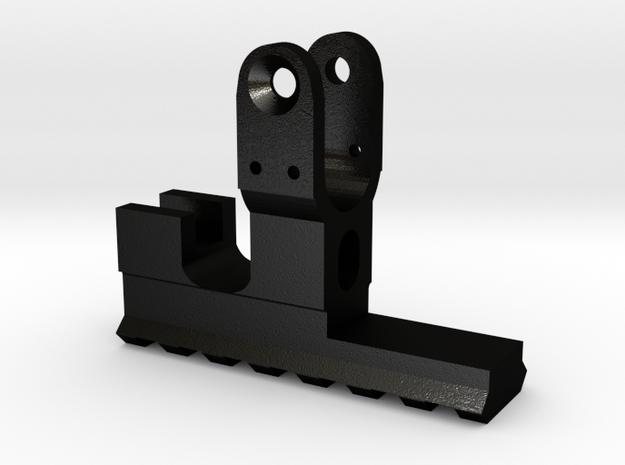 Rk95 front rail in Matte Black Steel