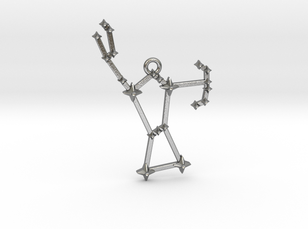 The Constellation Collection - Orion in Natural Silver