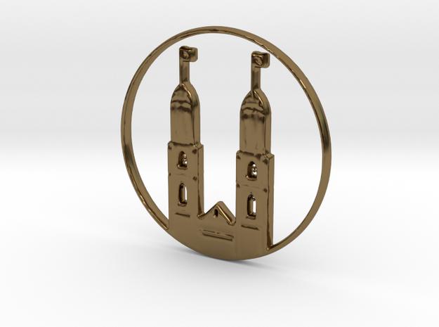 Zurich Pendant in Polished Bronze