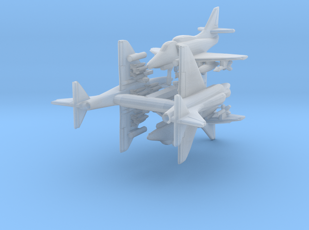 1/700 A-4F w/Gear x4 (FUD)