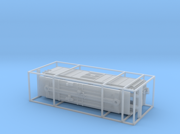 PRR X29B Boxcar N scale Fine Detail w/ Cage in Frosted Ultra Detail