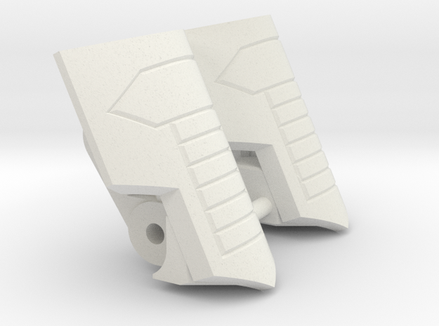 "Medic Knee Pads ""MTMTE"" Mk.I in White Strong & Flexible"