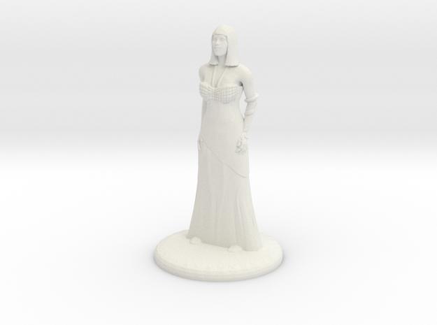 Hathor - 25mm in White Natural Versatile Plastic