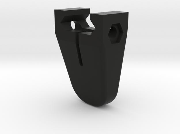Mini handstop Picatinny  - metric in Black Natural Versatile Plastic