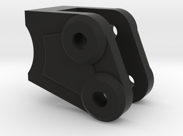 NCX10 Standard Link Mount in Black Natural Versatile Plastic