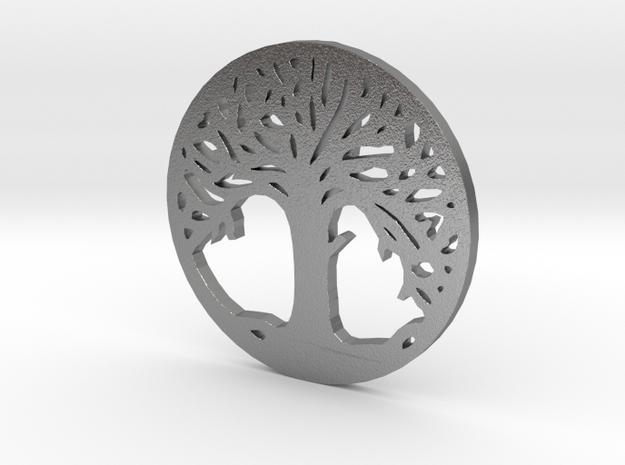 Árvore da Vida in Raw Silver
