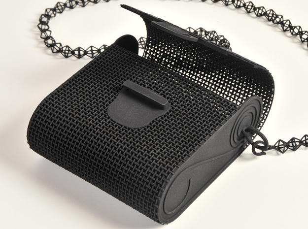 Woven Purse 3d printed