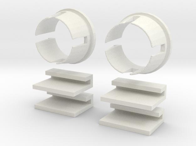 L Body 2 Door Window Reg Pack in White Strong & Flexible