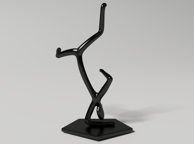 Breakdance Statue (updated) 3d printed breakdance_statue_new1