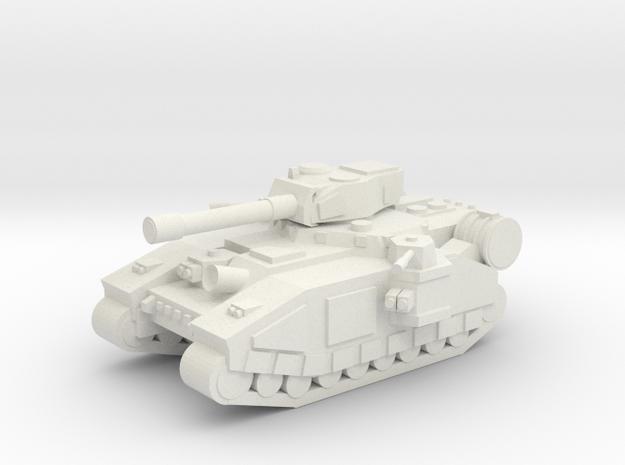 [5] Super-Heavy MBT in White Natural Versatile Plastic