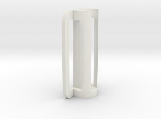 BIC Penholder V0.1 in White Natural Versatile Plastic