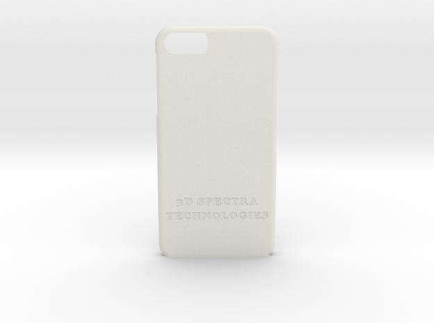 IPhone 6 Case in White Natural Versatile Plastic
