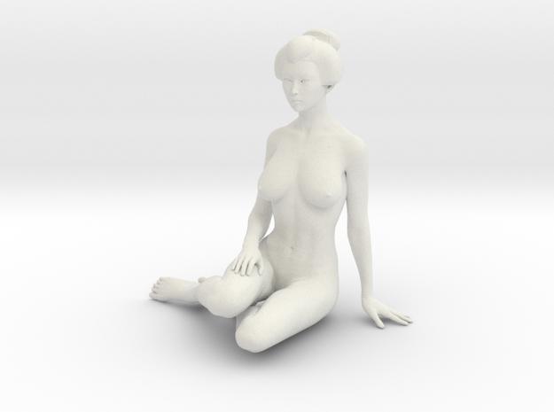 Japanese Girl 015 1/10 in White Natural Versatile Plastic