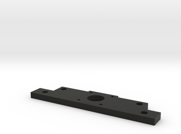 Flat Bracket in Black Natural Versatile Plastic