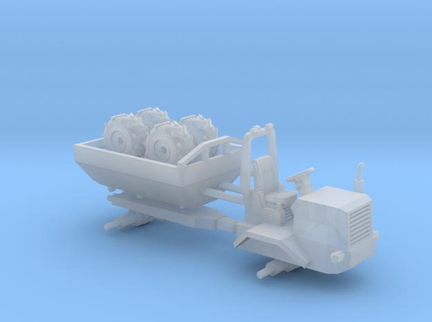 1/87 Scale Junkyard Mini Dumper in Smooth Fine Detail Plastic