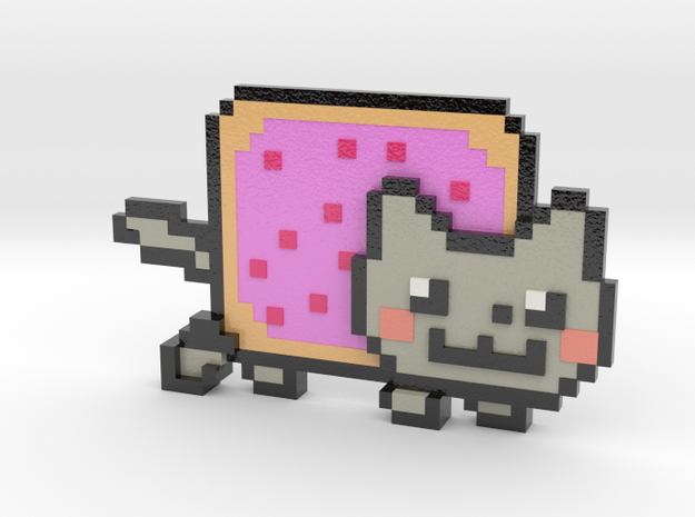 Nyan Cat 3d printed
