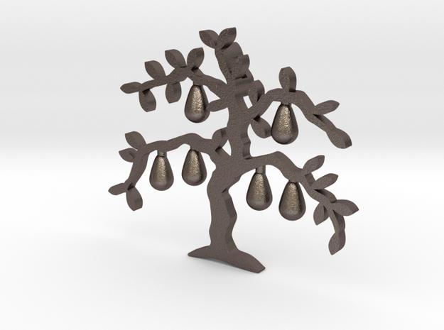 Tree Pendant in Stainless Steel