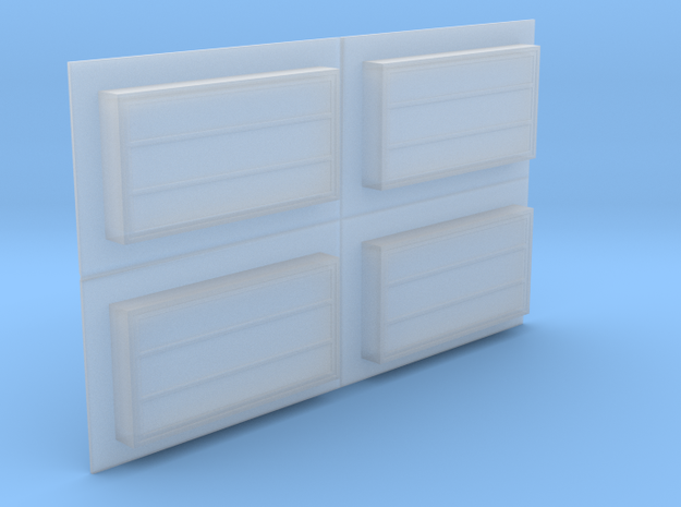 Skylight - Above Roof (4) -72:1 Scale in Smooth Fine Detail Plastic