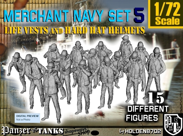 1/72 Merchant Navy Set 5 in Frosted Ultra Detail