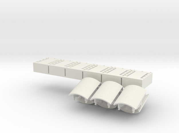 1:18 Era Panels Additional  in White Strong & Flexible