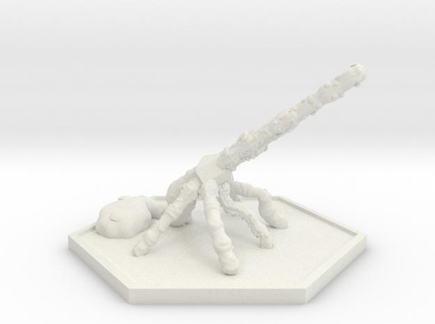 SWARM Bombard (Hex) in White Natural Versatile Plastic