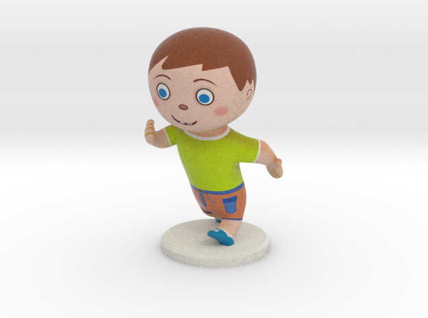 Kid  in Full Color Sandstone