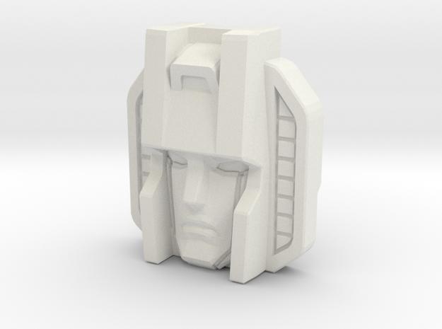 Skywarp Face, Sunbow (Titans Return) in White Strong & Flexible