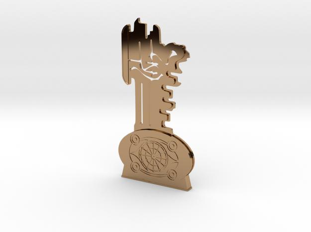Thir13en Ghosts Brass Key Replica Prop 3d printed