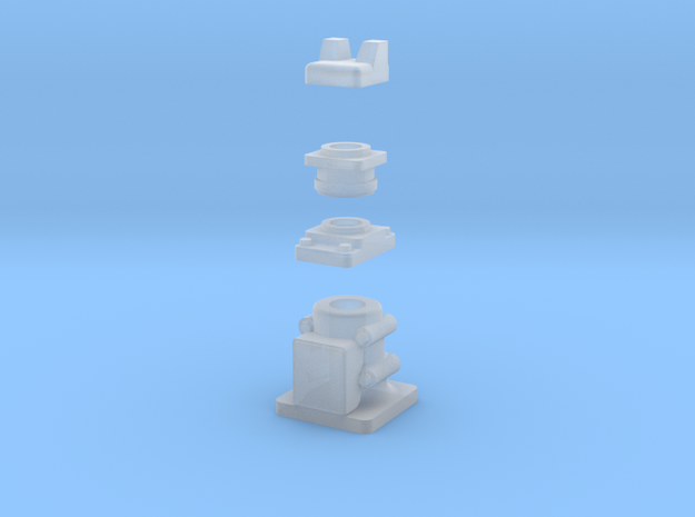 Additional Parts in Smooth Fine Detail Plastic