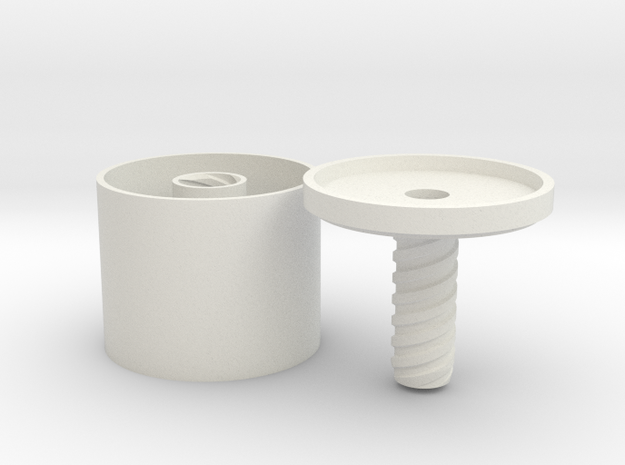 *ring holder The Ringmaster Solid Tall 3d printed