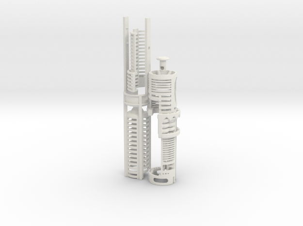 ASK-SHIEN-I2 - NWX Ahsoka large NEC kit in White Natural Versatile Plastic