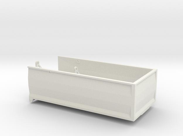 MA18 Grain bed in White Natural Versatile Plastic: 1:64