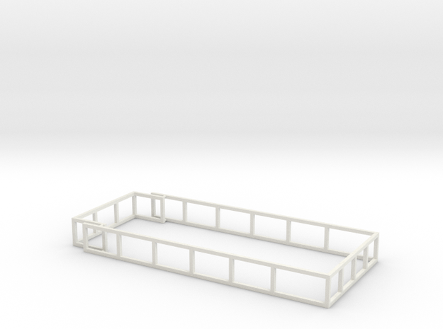 MA20 Silage racks in White Natural Versatile Plastic: 1:64